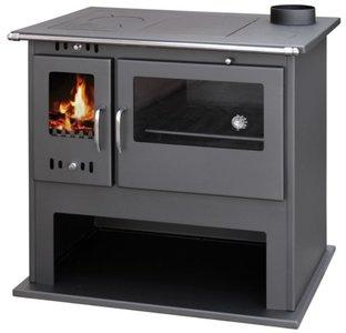 Victoria Viki Lux kookkachel houtkachel met oven 10,5kW, Rendement 77%